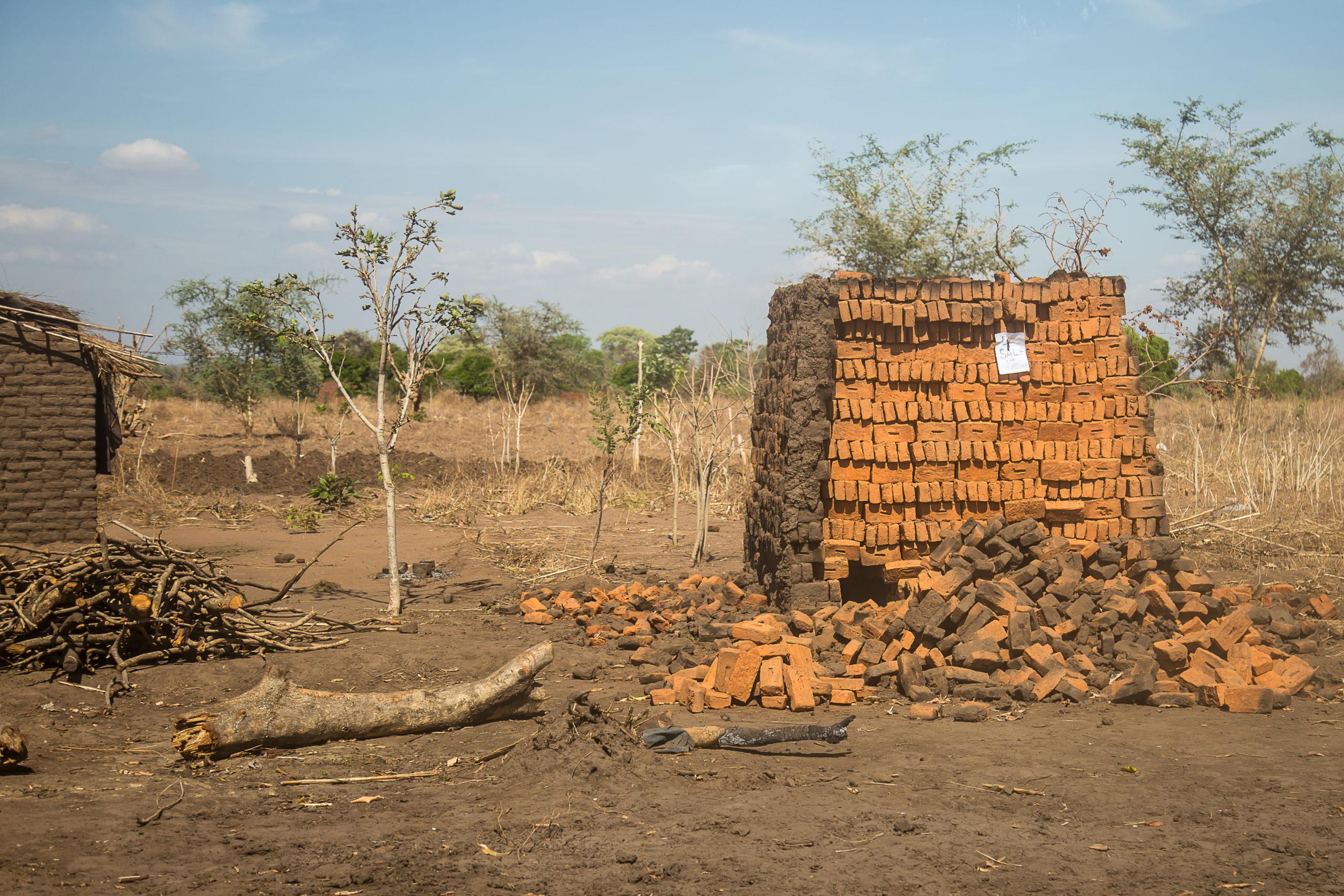 Burnt Brick stack